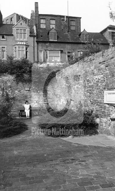 Garners Hill Park, Garner's Hill, Lace Market, Nottingham, c 1980s