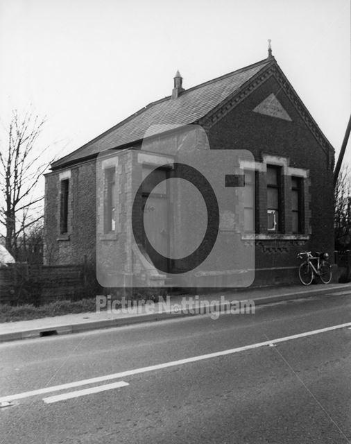 Wesleyan Chapel, Main Street, Dunham on Trent, 1977
