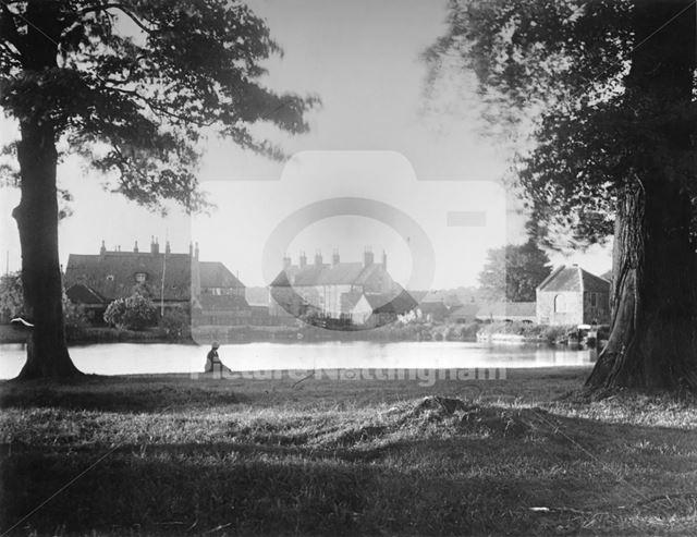 Old Mill Lake, Old Mill Lane, Cuckney, c 1932