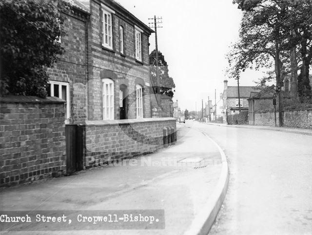Church Street, Cropwell Bishop, c 1940s