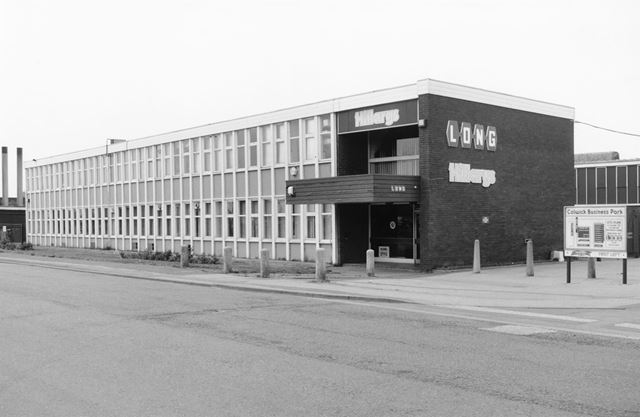 Hillary's Blinds, Business Park, Long Road No.2, Colwick, Nottingham, 1995
