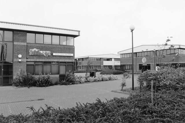 Hillary's Blinds, Churchill Business Park, Road No.2, Colwick, Nottingham, 1995