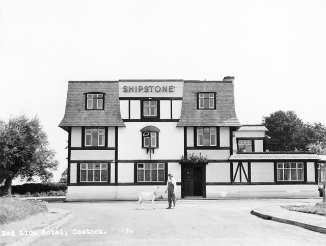 Red Lion Hotel, Old Main Road, Costock, c 1950s ?