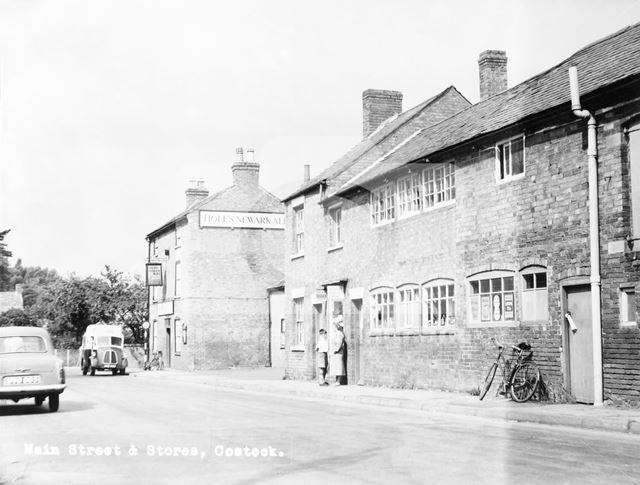 The Generous Briton, Main Street, Costock, c 1950s
