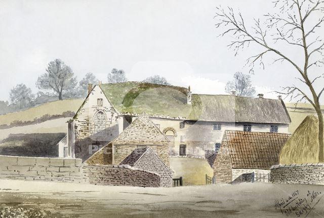 Skegby Manor House by Joseph Seddon-Tyrer, Skegby, 1867