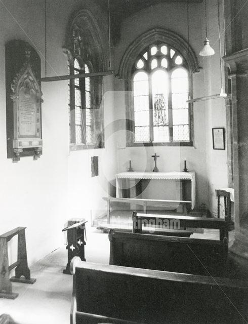 St. George's Chapel, St. Wilfred's Church, Kelham Hall, Kelham, 1979