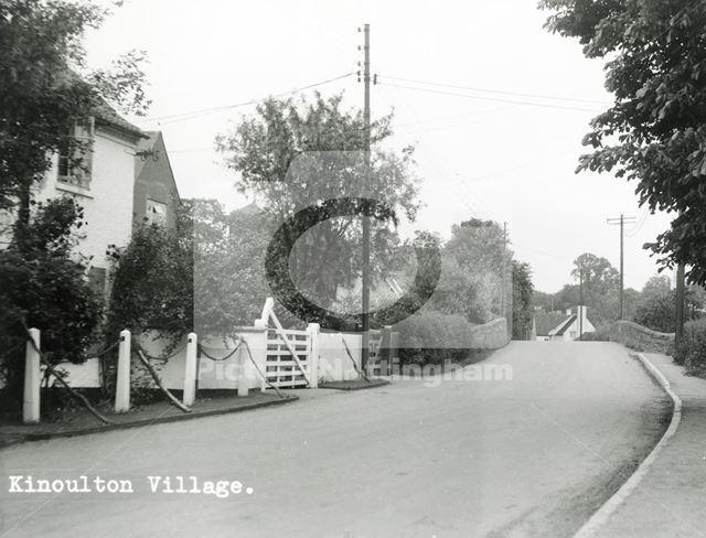 Main Street, Kinoulton, c 1960s ?