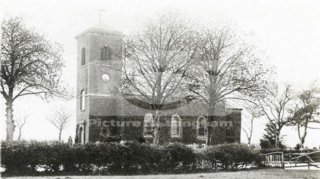 St Luke's Church, Kinoulton, c 1920s ?