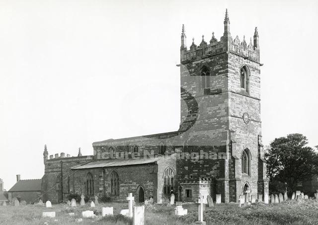 St Bartholomew's Church, Kneesall, c 1949/1950