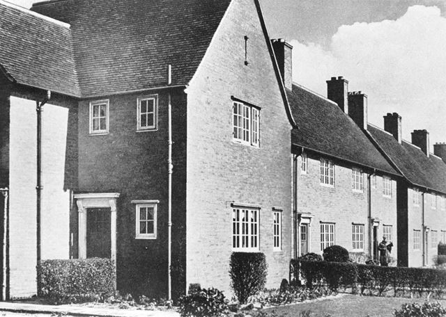 Miner's Houses, Mansfield Road, Clipstone, c 1920 ?