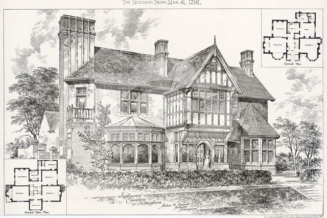 Inglewood, Melton Road, Edwalton, 1891