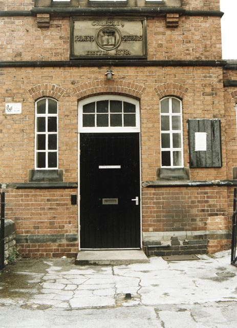 Beauvale Board School, Mill Road, Eastwood, c 1985