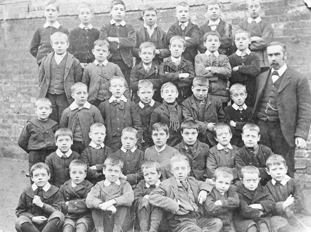 British School, Albert Street, Eastwood, c 1900 ?