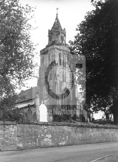 St Mary Magdalene Church, Nottingham Road, Keyworth, c 1965