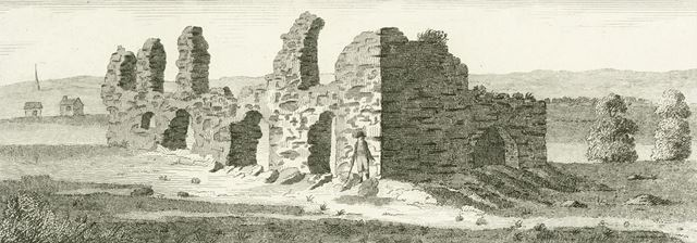 King John's Palace, Old Clipstone, c 1792