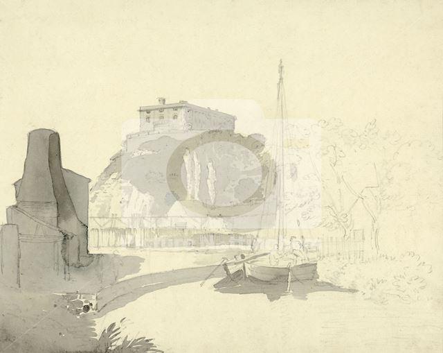 Nottingham Castle, c 1900 ?