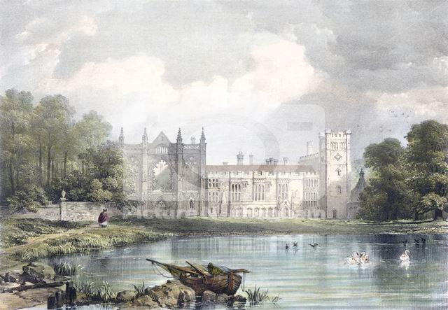 Newstead Abbey, Newstead, 1834