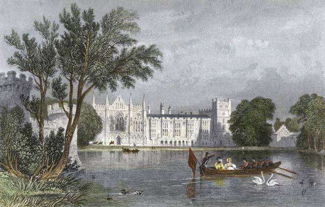 Newstead Abbey, Newstead, 1838