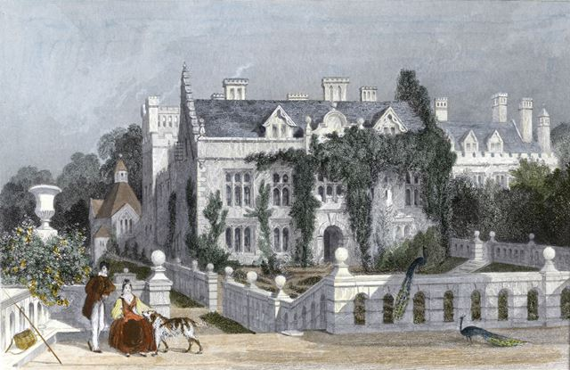 Newstead Abbey, Newstead, 1836
