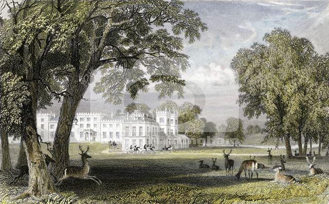 Welbeck Abbey, Nottingham, c 1835