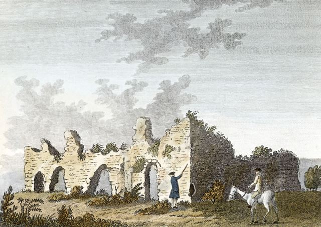 King John's Palace, Clipstone, c 1784