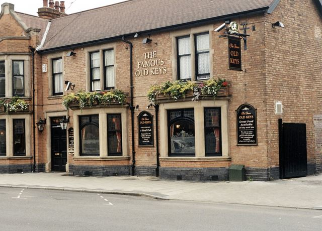 The Famous Old Keys Public House, Front Street, Arnold, 1998