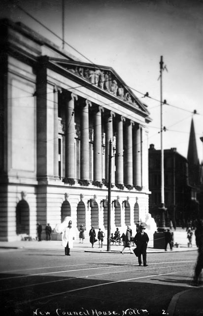 Council House, Old Market Square, Nottingham, c 1930