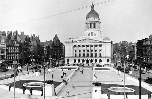Old Market Square, Nottingham, c 1930