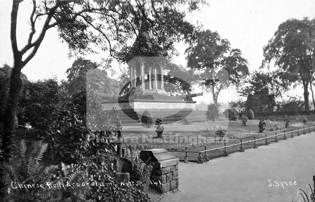 Chinese Bell, Arboretum, c 1925