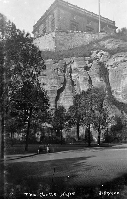 Nottingham Castle, c 1925