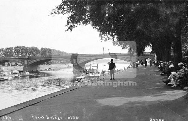Trent Bridge, The Meadows, Nottingham, c 1925