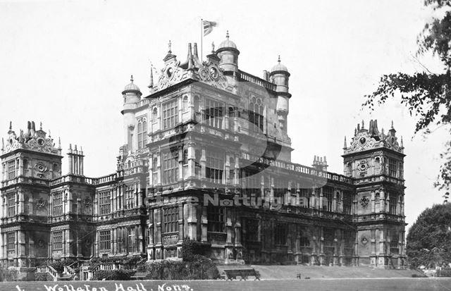 Wollaton Hall, Wollaton, Nottingham, c 1925