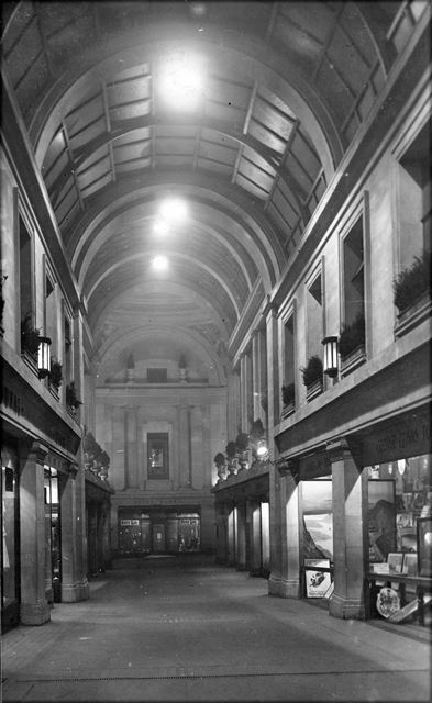 Council House Arcade, Old Market Square, Nottingham, c 1929