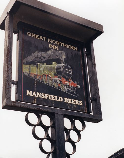 Great Northern Inn, Ossington Road, Carlton on Trent, Nottingham, 1998