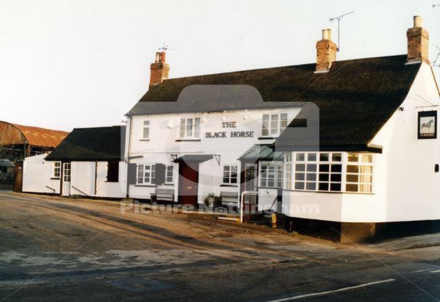 Black Horse Pub, Main Street, Caythorpe, Nottingham, 1997