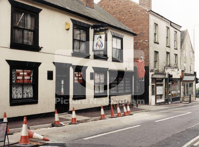 Lord Nelson Pub, Nottingham Road, Eastwood, Nottingham, 1998