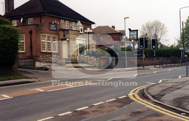 Grey Goose Pub, Arnold Lane, Gedling, Nottingham, 1998