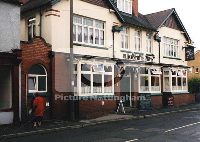Blacksmith's Arms Pub, Main Street, Harworth, Nottingham, 1998