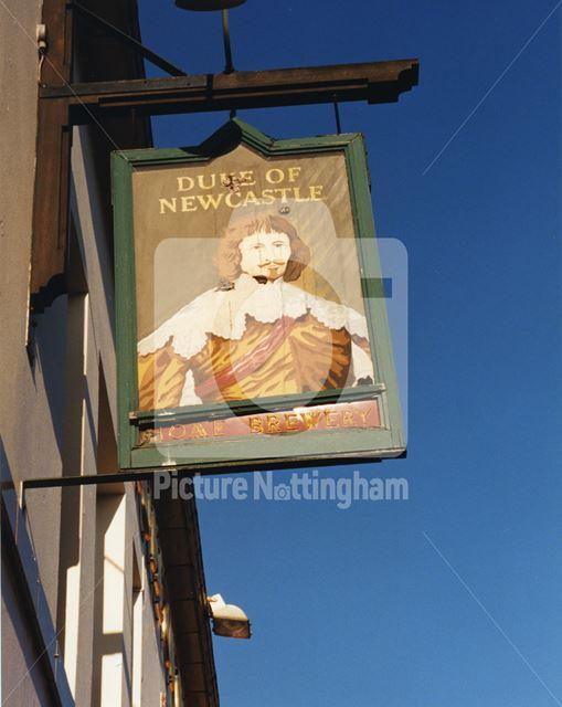 Duke of Newcastle, Whitemoor Road, Basford, 1998