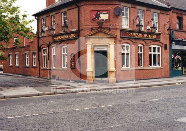 The Framesmiths Arms, Main Street, Bulwell, Nottingham, 1998
