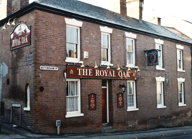 The Royal Oak, Nottingham Road, Basford, 1998