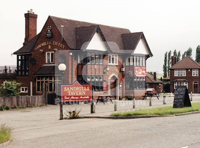 Sandhills Tavern, Mansfield Road, Underwood, 1998