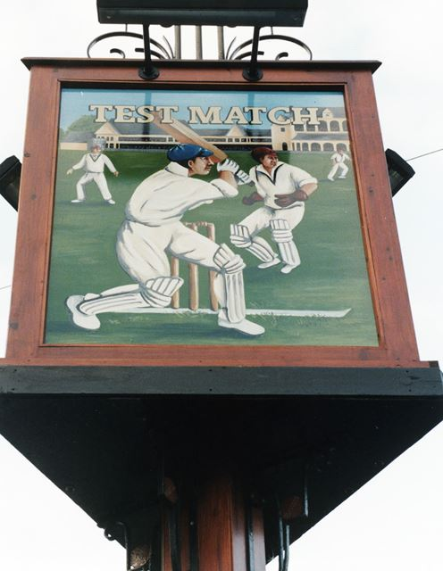 Test Match, Gordon Square, West Bridgford, November 1998