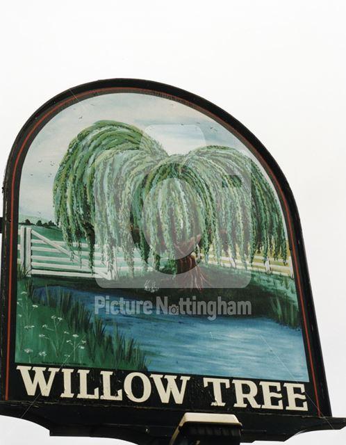 Willow Tree, Stamford Road, West Bridgford, November 1998