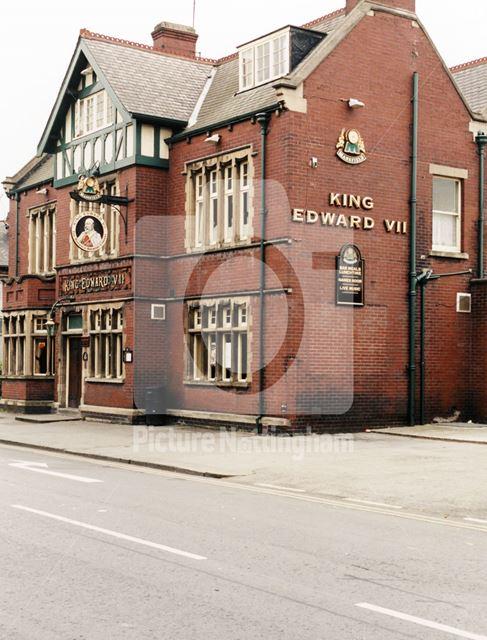 King Edward VII, Ryton Street, Worksop, July 1998