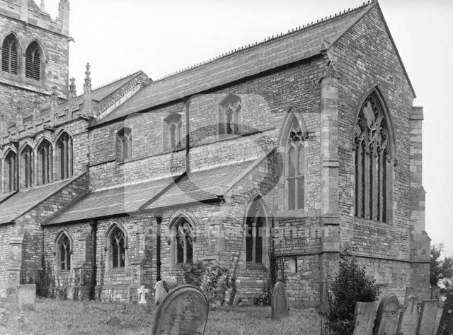 St Michael's Church, Laxton, 1949