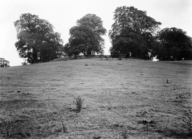 Motte and bailey castle, Laxton, undated