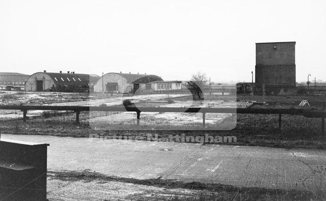 Aerodrome, Langar, c 1970