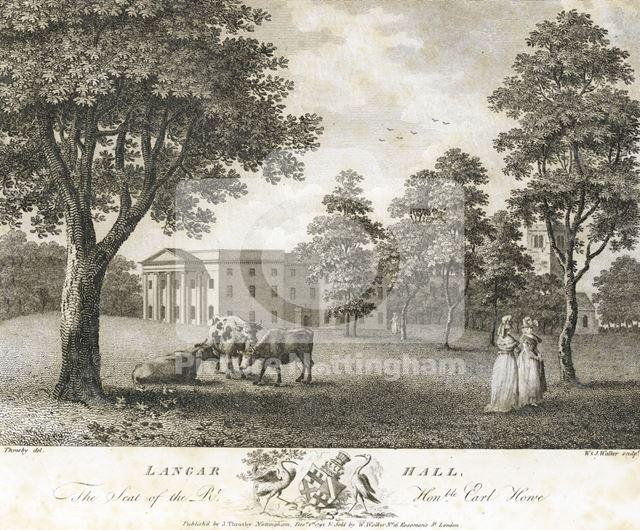 Langar Hall, 1792