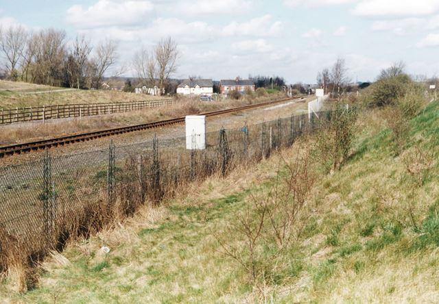 Wighay Road Level Crossing, Hucknall, 1999